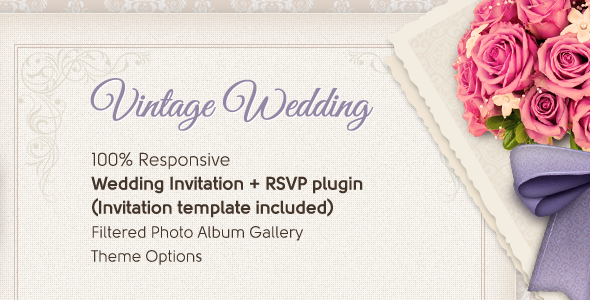 Vintage Wedding WordPress Themes