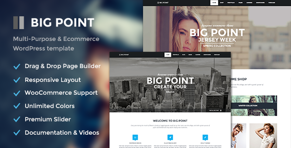 Big Point - Multi-Purpose & Ecommerce Theme
