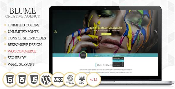 Blume Responsive Feminine WordPress Themes