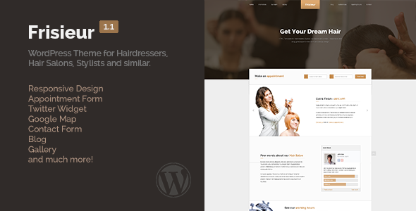 Spa Salon WordPress Themes