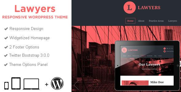 Lawyers - Responsive Business WordPress Theme