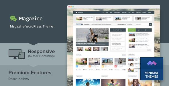 Magazine - Responsive Multipurpose WordPress Theme