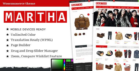 Martha - Woocommerce Premium Theme