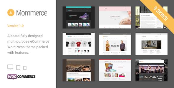 Mommerce - Modern Multi-Purpose WooCommerce Theme
