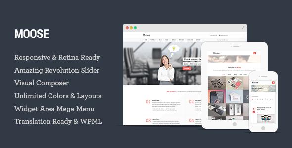 Moose - Multipurpose Responsive WordPress Theme