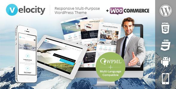 Velocity Responsive WordPress Theme