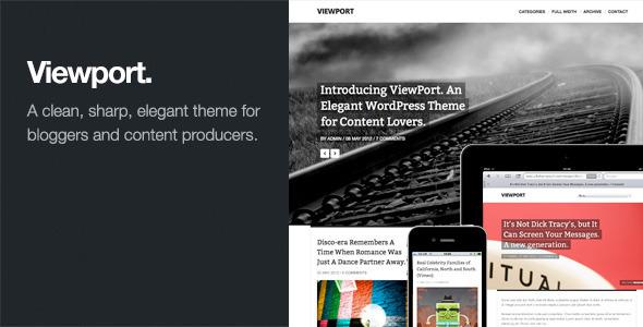 Viewport - Responsive Magazine WordPress Theme
