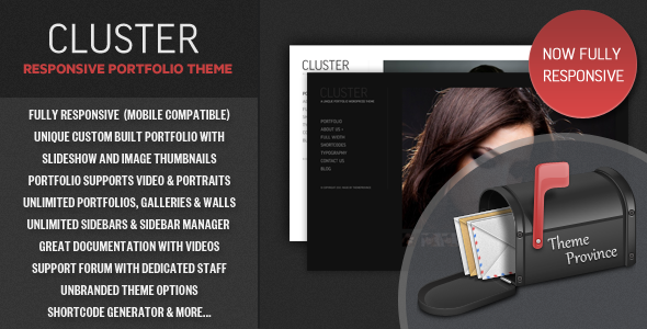 Responsive Portfolio WordPress Themes