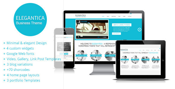 Elegantica - Responsive Business WordPress Theme