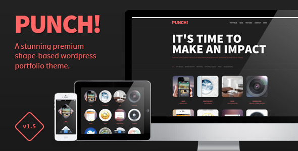 Punch - Responsive Portfolio WordPress Theme