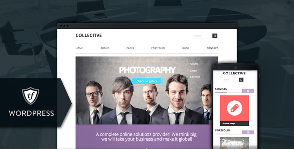 Collective - Professional WordPress Theme