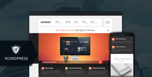 Interakt Agency - Responsive Enterprise WordPress Themes