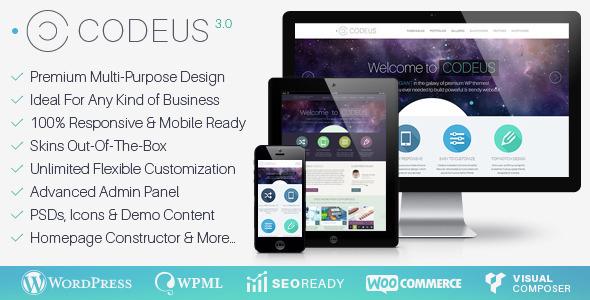 Codeus - Multi-Purpose Responsive WordPress Theme