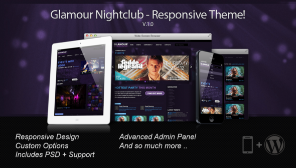 WordPress Nightlife Themes