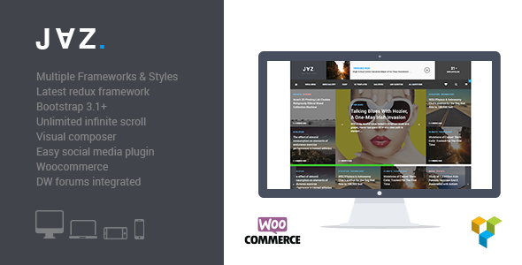 Jaz - Responsive WordPress Magazine Theme