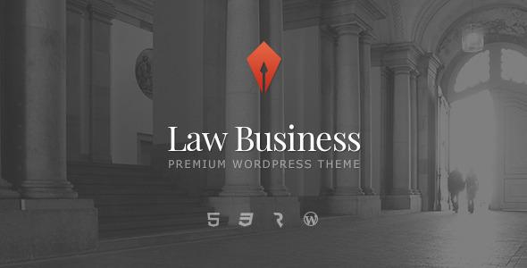 LawBusiness - Attorney & Lawyer WordPress Theme