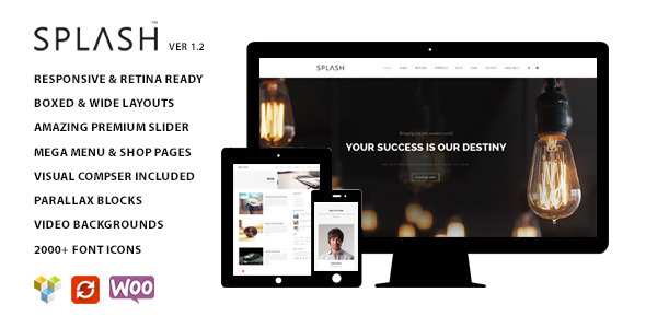 Splash - Multipurpose WordPress Theme