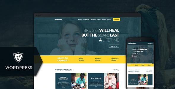 Organization WordPress Themes