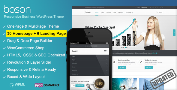 Boson - Multi Purpose WordPress Responsive Theme