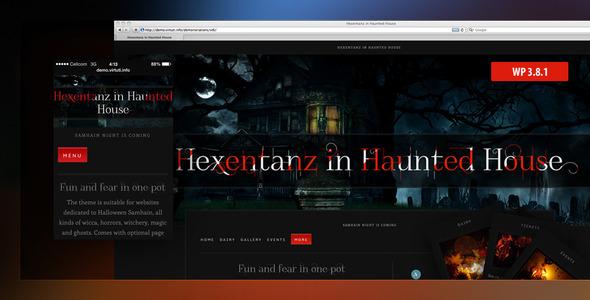 Hexentanz–Horror Halloween Events Theme