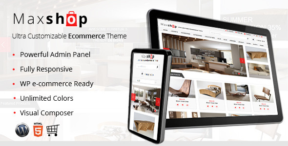 Maxshop - Responsive WP e-Commerce Theme