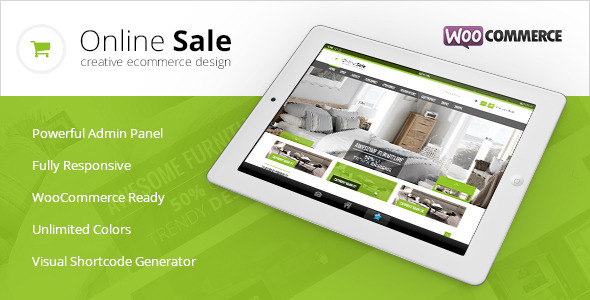 Online Sale - Responsive WooCommerce Theme