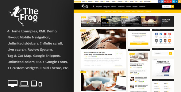 WordPress Editorial Style Themes