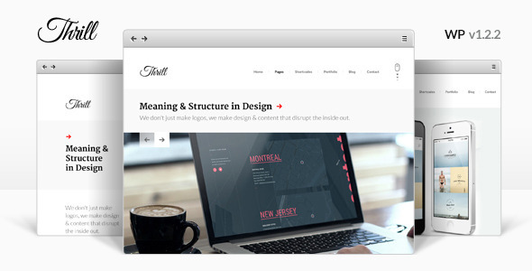 Thrill - One Page WordPress Theme