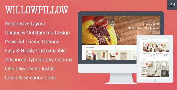 WillowPillow - High Conversion eCommerce Theme