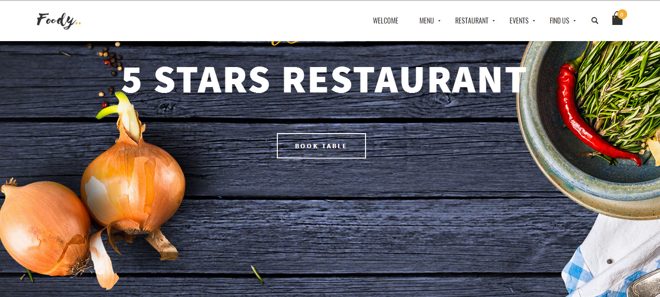 Responsive Restaurant WordPress Themes