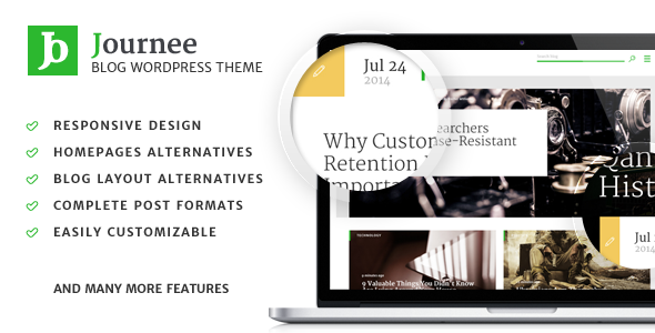 Journee - Premium Blog & Magazine WordPress Theme