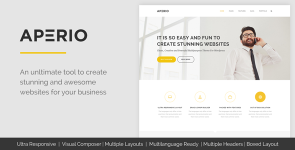 Aperio Multipurpose WordPress Theme