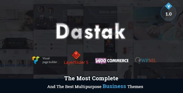 Dastak - A Multipurpose Responsive Theme