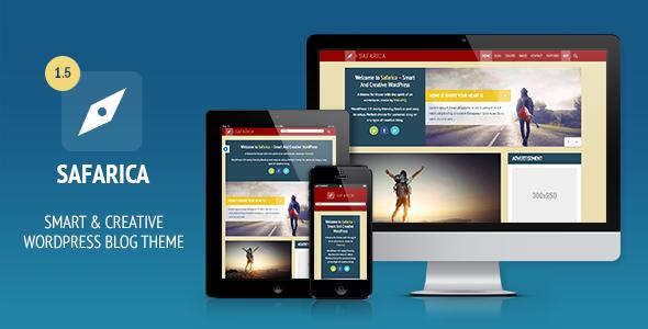 Safarica - Smart And Creative WordPress Blog Theme