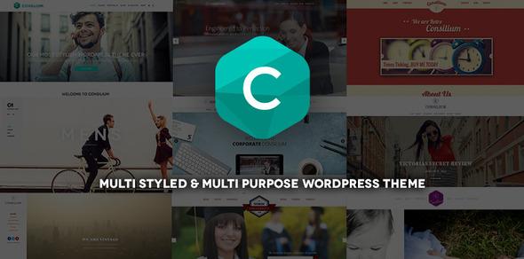 Consilium - Multi-Styled & Multi-Purpose Theme