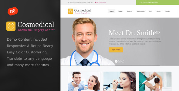 Health and Fitness WordPress Themes