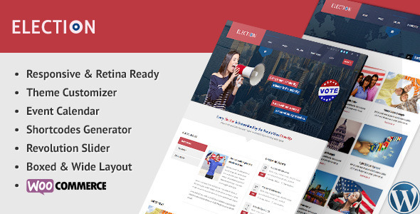 Election - Political WordPress Theme