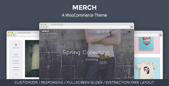 Merch - A WooCommerce WordPress Theme