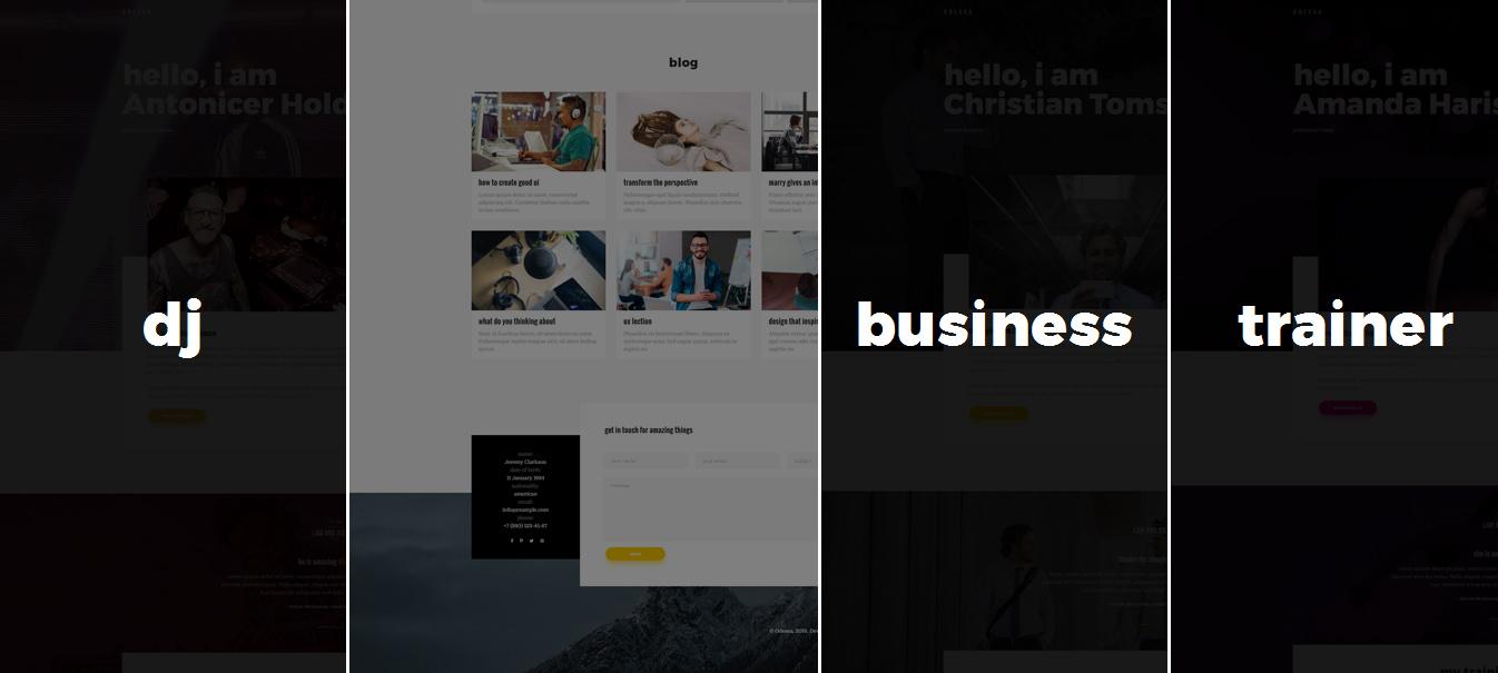 13 Delightful WordPress Resume Themes 2017 - WPFriendship