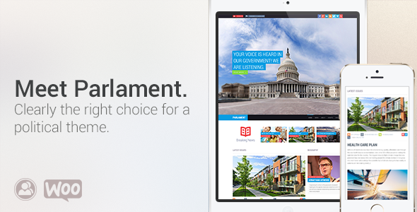 Parlament - Political WordPress Theme