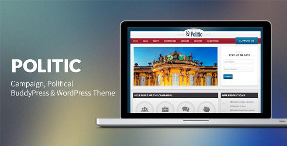 Politician WordPress Themes