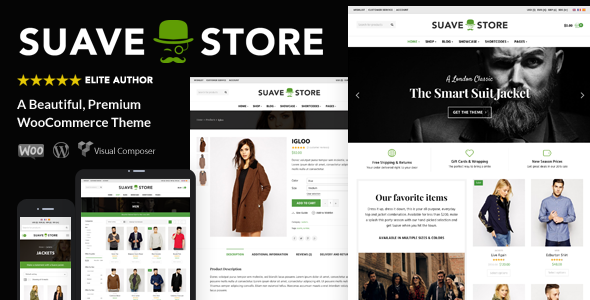Suave - Multi-Purpose WooCommerce Theme