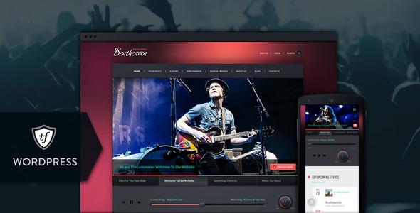Beatheaven - Music WordPress Theme