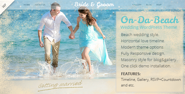 WordPress Wedding Themes for Photographers
