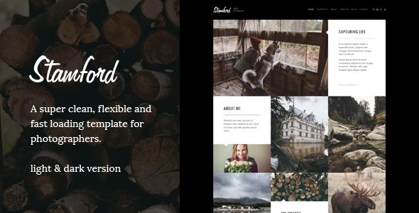 Stamford - Creative Photography WordPress Theme