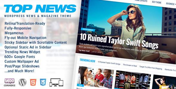 Entertainment WordPress Themes