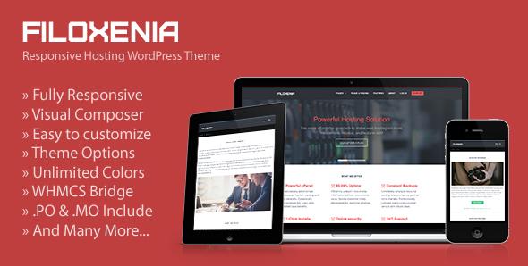Filoxenia - WordPress Hosting Theme + WHMCS
