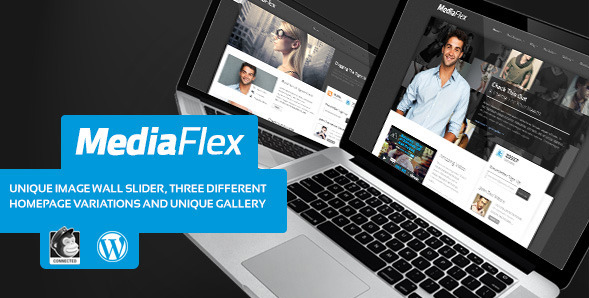 MediaFlex - Unique WordPress Agency Theme