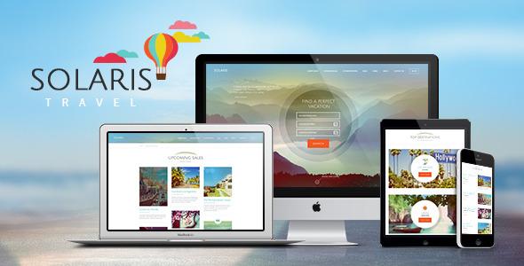 Solaris - Travel Agency WordPress Theme