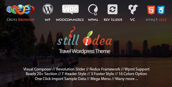Stillidea - Travel Tour Multipurpose WP Theme